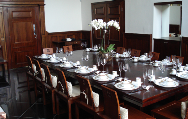 Private dining at the Royal Baths Chinese Restaurant, Harrogate